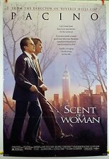 Scent of a Woman 1992 Original Movie Poster 27x40 Folded, Single-Sided