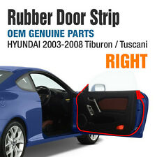 OEM Genuine Parts Rubber Door Strip (RIGHT) For HYUNDAI 2003-2008 Tiburon