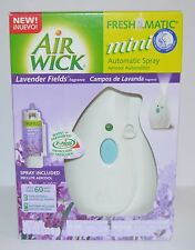 NEW AIR WICK FRESHMATIC MINI AUTOMATIC SPRAY LAVENDER FIELDS STARTER KIT REFILL