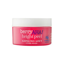[ETUDE HOUSE] Berry AHA Bright Peel Sleeping Pack - 100ml