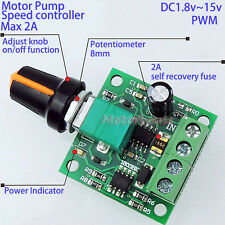 Mini DC Motor Speed Controls Adjustable Controller Board DC 3V 5V 6V 9V 12V 2A