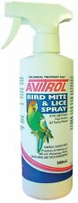 AVITROL Bird Mite & Lice 500 ml spray - FREE REGISTERED POSTAGE