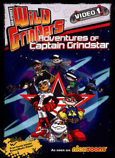 Wild Grinders: Adventures with Captain Grindstar New DVD SEALED