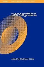 Perception (Vancouver Studies in Cognitive Science), , New Book