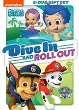 Paw Patrol / Bubble Guppies: Dive In & Roll Out - 2 DIS (2016, REGION 1 DVD New)