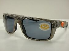 COSTA DEL MAR MOTU POLARIZED SUNGLASSES CAMO FRAME/GRAY 580P LENS MTU69 OGP NEW!