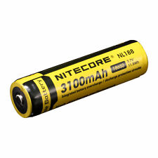 Nitecore 3.7V 3100mAh Li-ion 18650 Protected Rechargeable Battery NL188