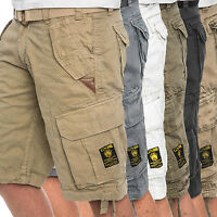 Geographical Norway Herren Cargo Short Sommer Bermuda kurze Hose Army Shorts