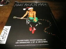 IGGY POP - Publicité de magazine / Advert !!! NOEL ROCK'N MODE !!!
