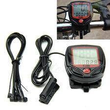 Waterproof Digital LCD Computer Bicycle Cycle Bike Speedometer Odometer Useful