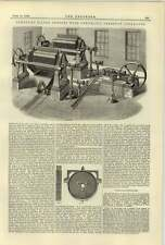 1884 Johnson Clean Water Filter Press With Pneumatic Pressure Apparatus