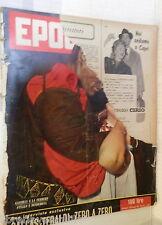 EPOCA 30 dicembre 1956 Gassman Callas e Tebaldi Paule Guillou Billi e Riva Segni