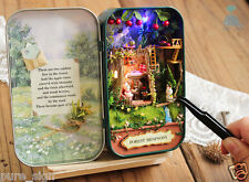 DIY Handcraft Miniature Project Kit Dolls House The Forest Rhapsody Tin Box