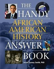 Handy African American History Answer Book (The Handy Answer Book Seri-ExLibrary