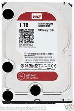 """New WD RED WD10EFRX NAS 1TB 3.5"""" Internal Hard Drive 6Gb/s 64MB SATA 1 TB PC HDD"""
