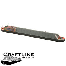 Craftline Models MB70 - Covered Narrow Boat Balsa Wood Kit OO Gauge/4mm -1st