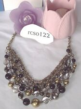Beautiful Lia Sophia FANCY THAT Multi-Strand Necklace, NWT