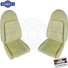 1972 Challenger Front Bucket Seat Buns Foam Cushion Pair PUI New