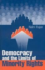Democracy and the Limits of Minority Rights, Rajan, Nalini, Very Good Book