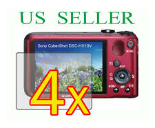 4x Sony CyberShot DSC-HX10V DSC-HX10 Clear LCD Screen Protector Guard Film