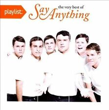 Playlist: The Very Best of Say Anything [PA] (CD, Oct-2011, J Recs) New-Sealed