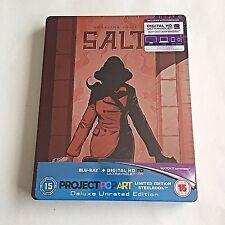 Salt Blu Ray Steelbook [U.K.] Pop Art Ultra Limited Edition! 500 Print Run! NEW!