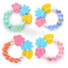 Silicone Baby Teether Toothbrush Toother Toddler Bell Chew Toy Massager New