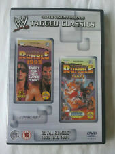 WWE Tagged Classics - Royal Rumble 1993 & 1994 (DVD) Rare 93 94