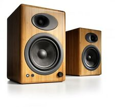 Audioengine A5+ Premium Powered Active Speakers (PAIR) Bamboo - NEW