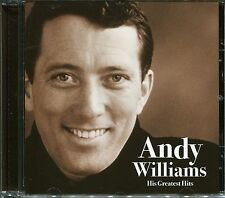 ANDY WILLIAMS HIS GREATEST HITS CD