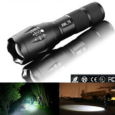 2PCS G700 CREE XM-L T6 3800 Lumens Cree Led Torch Zoomable Flashlight Torch