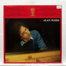 ALAIN WEISS - BARTOK piano works QUEEN ELISABETH MUSIC COMPETITION LP NM
