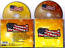 THE OSMOND BROTHERS - American Trilogy 2008 CD + DVD Nuovo RARISSIMO IMPORT