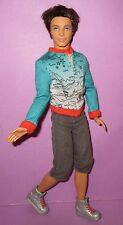 Barbie Ken Doll Fashionista Fashionistas Articulated Poseable Brunette Sporty