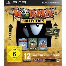 Sony PS3 Playstation 3 Spiel ***** Worms Collection *********************NEU*NEW