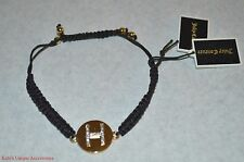 JUICY COUTURE LETTER H INITIAL NAME CHARM BRACELET Brand New with Tags GIFT Idea