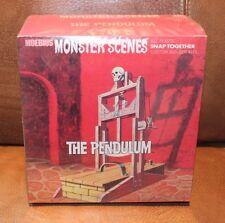 Moebius Monster Scenes THE PENDULUM plastic snap model kit Sealed # 636