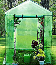 Outdoor Greenhouse Portable Walk In 8 Shelf 2 Tier Brand New Garden Green House