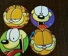 2016 GARFIELD AND ODIE BEAUTIFUL PROMO STICKER SET OF 4 DIFFERENT
