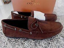 NIB  $195.00 Coach Men's Shoes Brown Suede Mott Lace..Sz. 11..BRAND NEW