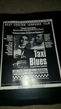 Taxi Blues Best Foreign Film Consideration Promo Poster Ad Framed!