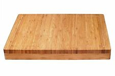Lipper International 8830 Bamboo Over The Edge of Counter Cutting Board , New, F