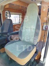 TO FIT A MERCEDES SPRINTER MOTORHOME, 2010, SEAT COVERS, MINT GREEN VELOUR