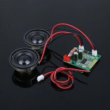 Mini Bluetooth Amplifier Board Double Speakers Receiver Vehicle Unicycle