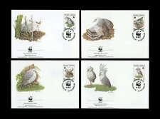 Neukaledonien Nr. 1144-47 WWF FDC Ersttagsbriefe (455511444780)