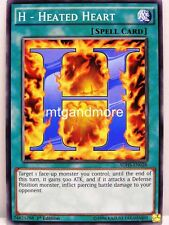 YU-GI-OH - 3x H-Heated Heart-SDHS-Structure Deck Hero Strike