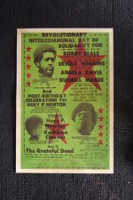 The Black Panther Rally Poster 1971 Oakland Bobby Seale