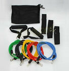 Resistance Bands Exercise Heavy Duty 11 pcs Fitness Tube yoga workout abs