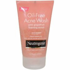 Neutrogena Oil-Free Acne Wash Pink Grapefruit Foaming Scrub 4.2oz Each