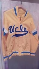 VINTAGE 80'S RARE UCLA BRUINS BASKETBALL WARMUP  SIZE 36 JACKET SMALL  MEDALIST